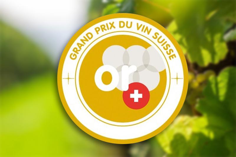 2 Médailles d'Or au Grand Prix du Vin Suisse